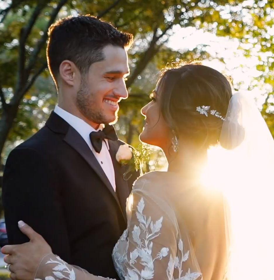Colin & Nikki Ellis Preserve Wedding Videography