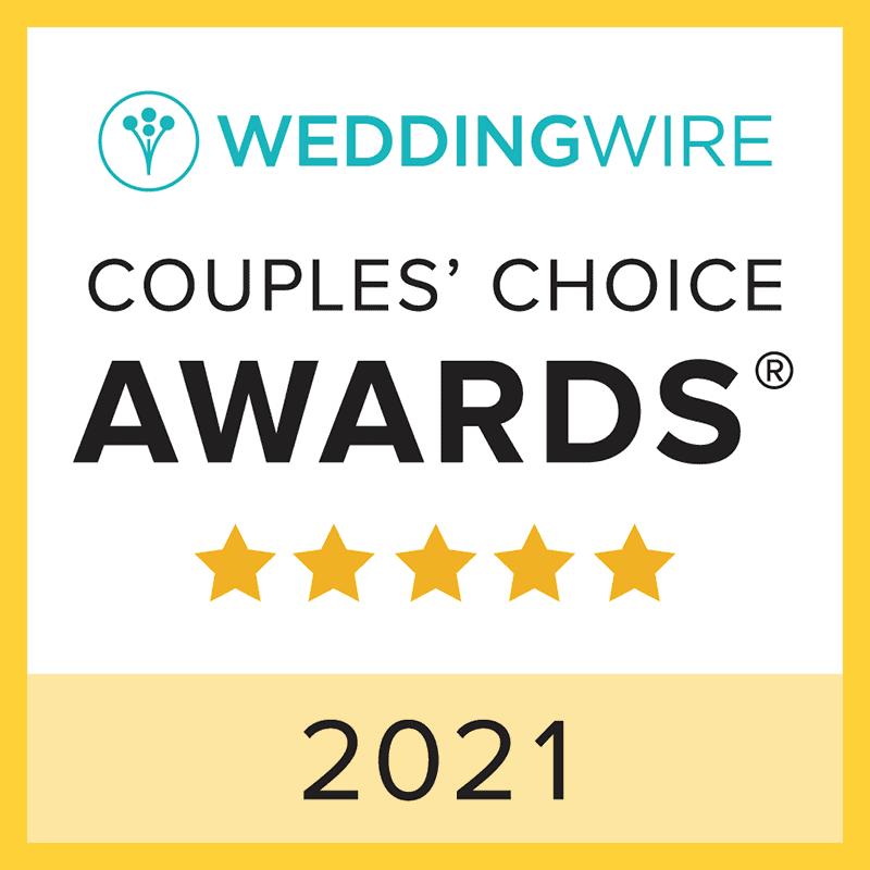 WEDDINGWIRE / COUPLES' CHOICE AWARDS 2021  - Icon