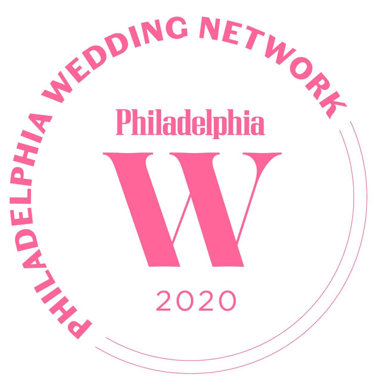 Philadelphia Wedding Network 2020 Award - Icon