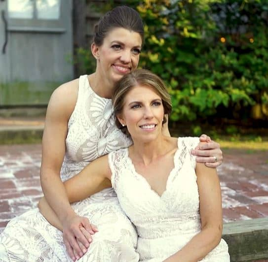 Shannon & Karen Terrain LFBTQ Same Sex Wedding